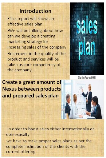 Sales planning and operation presentation slide 1
