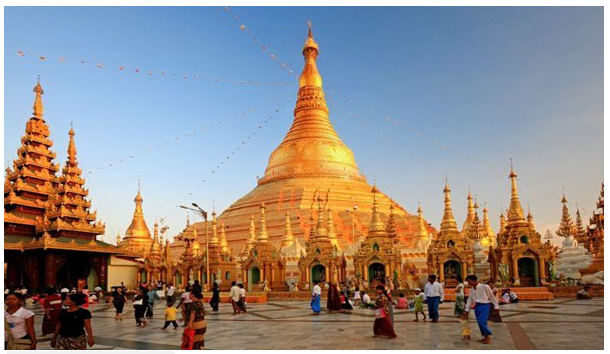 golden Shwedagon Pagoda