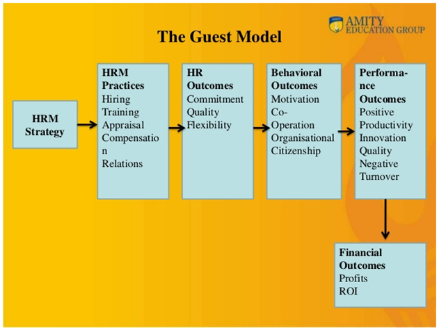 Guest's model of HRM | HND Help
