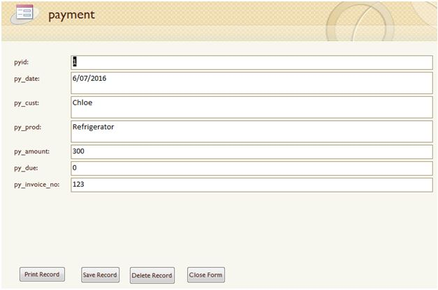 Payment form2