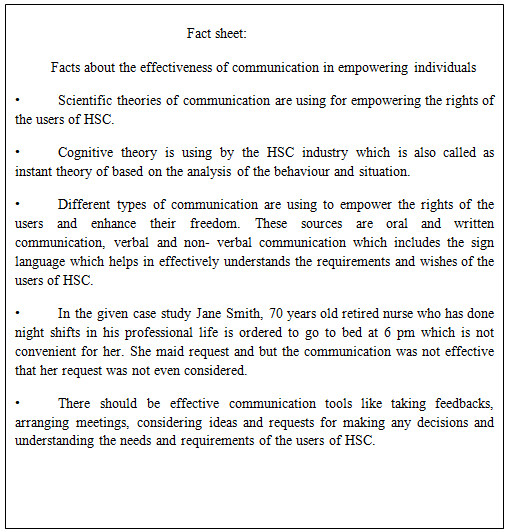 effective communication in social work
