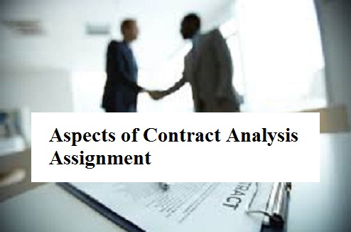 Aspects Contract Analysis Assignment