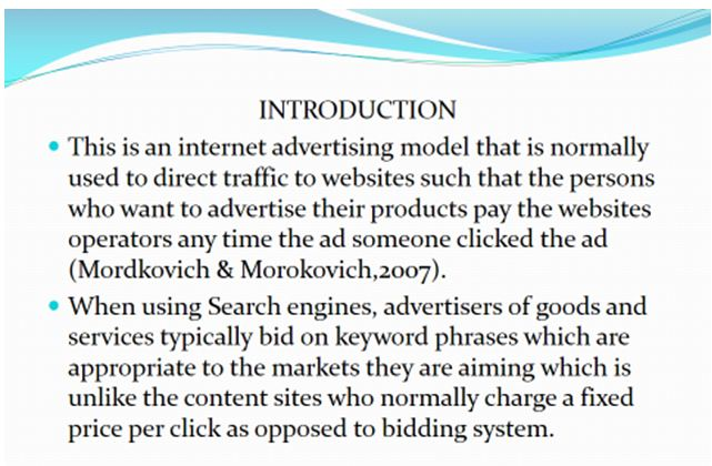 Pay per click advertising VW 2