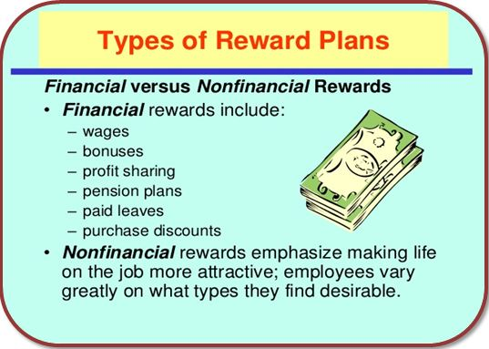 Financial and Non-Financial rewards in Hilton hotel