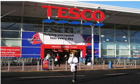 Logo OF Tesco