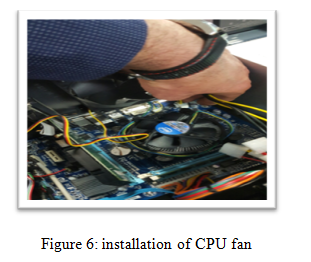 installation of CPU fan - Assignment Help in UK