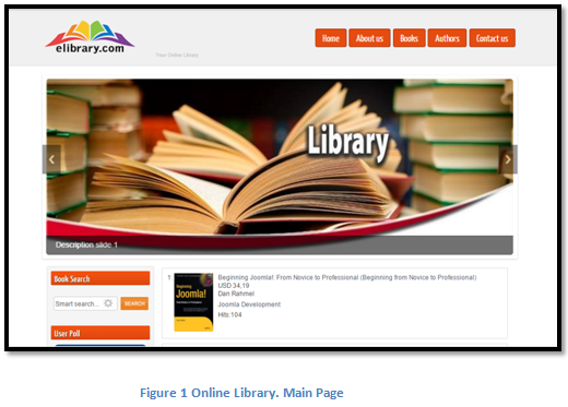 Online Library. Main Page