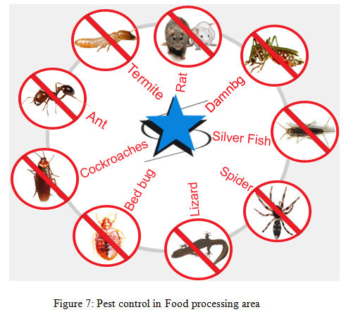 Pest control in Food processing area - Assignment Help in UK