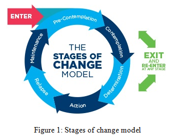 Stages of change model - Assignment Help in UK