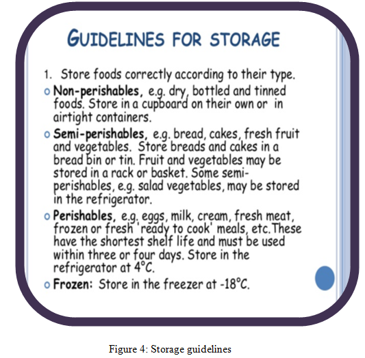 Storage guidelines - Assignment Help in UK