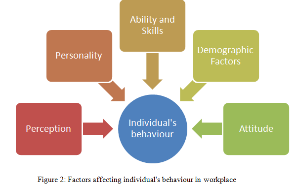 Factors affecting individual's behaviour in workplace - Assignment Help in UK