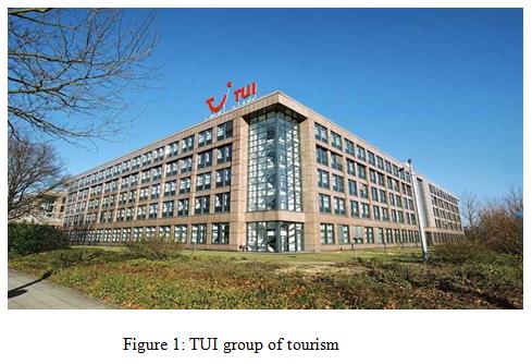TUI group of tourism