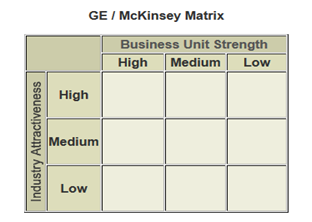 mckinsey matrix - Assignment Help in UK