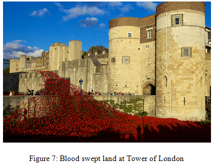 Blood swept land at Tower of London - Assignment Help in UK