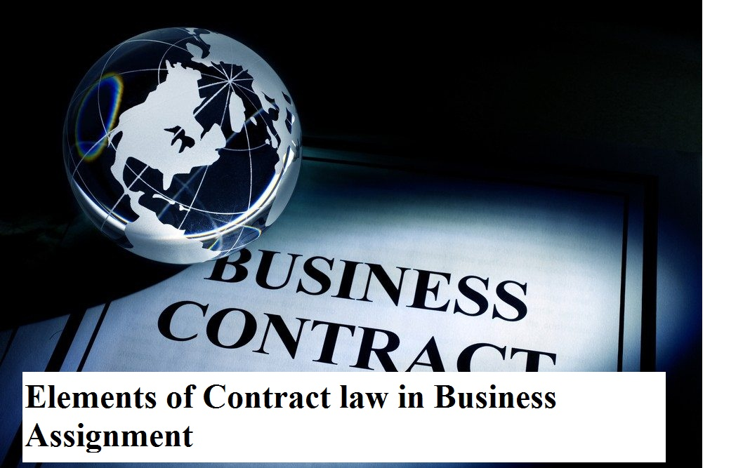 Seeking contracts law assignment essay help?