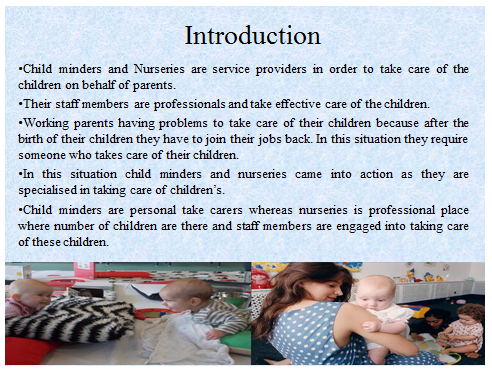 Unit 11 Research Project Child Minders Assignment 22