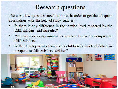 Unit 11 Research Project Child Minders Assignment 25