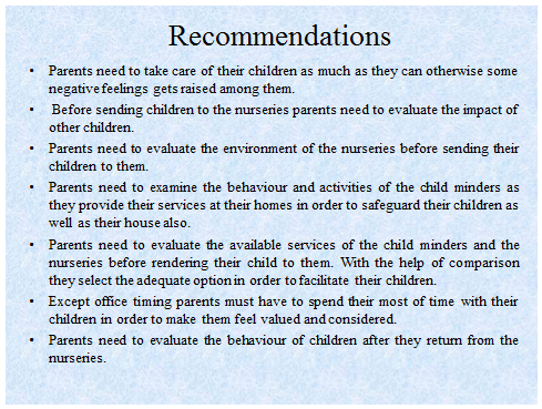 Unit 11 Research Project Child Minders Assignment 28