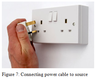 Connecting power cable to source - Assignment Help UK