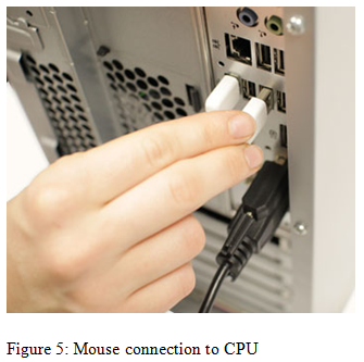 Mouse connection to CPU - Assignment Help UK
