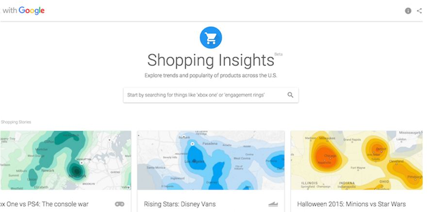 Google Insights and Trends