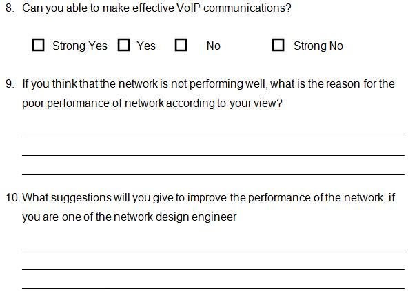 designed network