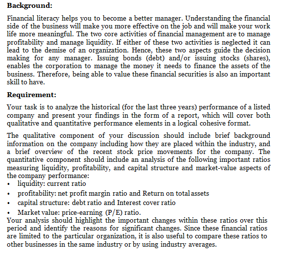 financial management essays Financial managers are there in the corporation to oversee preparation of  financial reports, execute all cash management strategies and direct corporations .