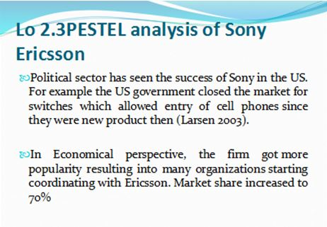 sony ericsson s pricing strategy Free business essays home free essays business essays the formation and evolution of sony ericsson alliance  high distribution price was also another impediment  special report.