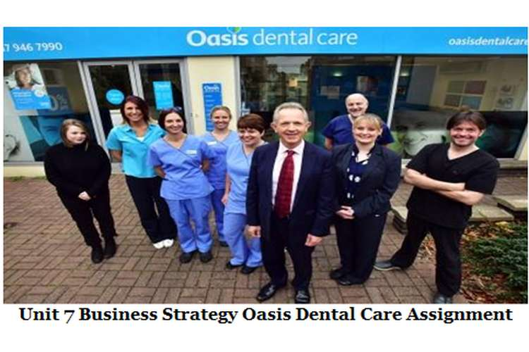 Unit 7 Business Strategy Oasis Dental Care Assignment