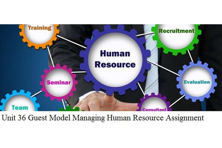 Unit 36 Guest Model Managing Human Resource Assignment