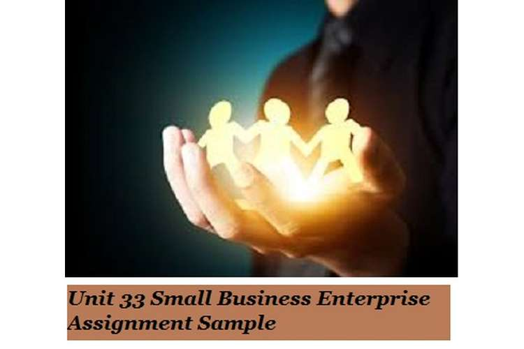 Small Business Enterprise Assignment Sample