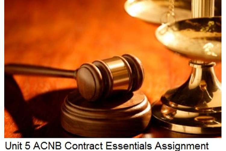 Unit 5 ACNB Contract Essentials Assignment