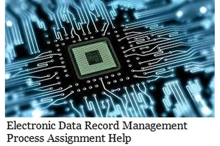 Electronic Data Record Management Process Assignment Help