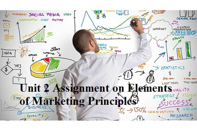 Unit 2 Assignment on Elements of Marketing Principles