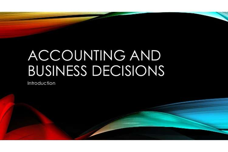 HI5001 Accounting for Business Decisions Assignment