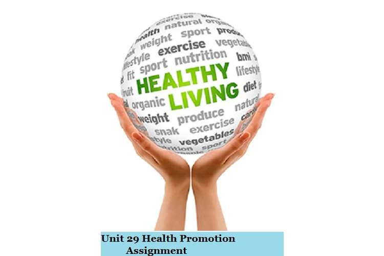 Health Promotion Assignment