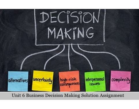 compilation on decision making