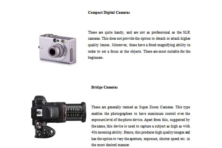 Digital Image Creation Development Copy
