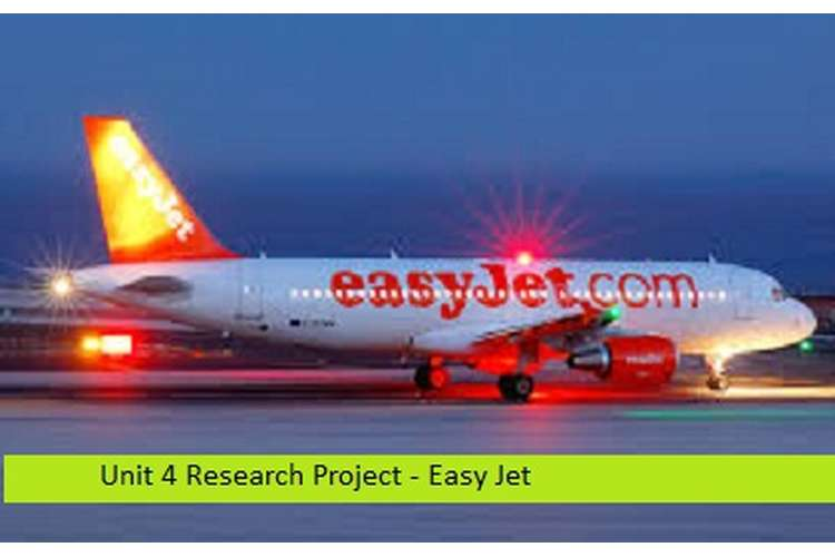 Research Project Easy Jet Assignment