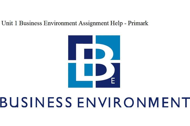 Unit 1 Business Environment Assignment Help - Primark