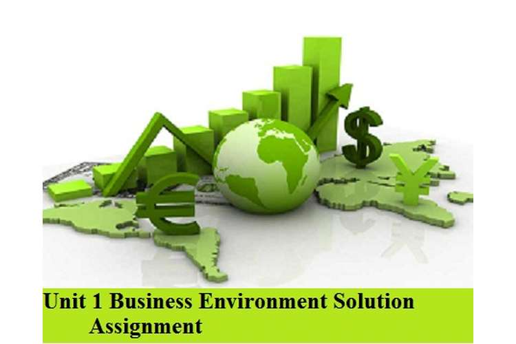 Business Environment Solution Assignment