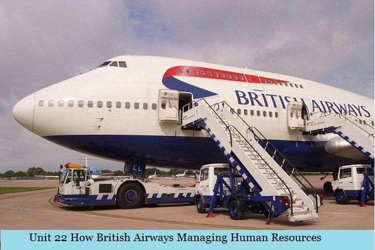 How British Airways Managing Human Resources