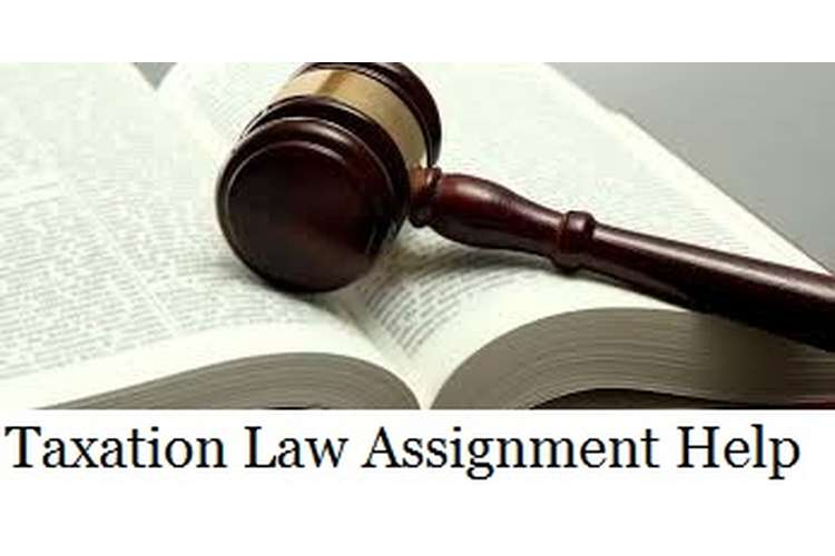 Taxation Law Assignment Help