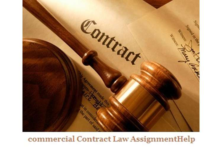 Commercial Contract Law Assignment Help