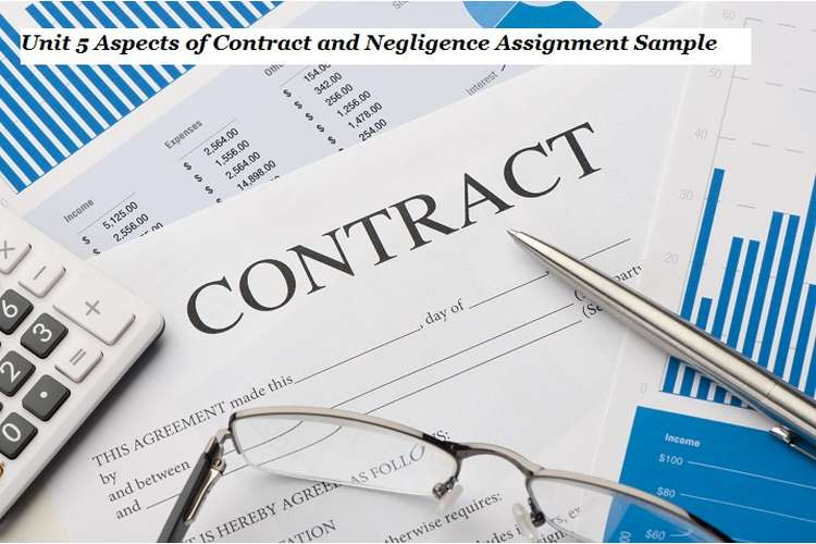 Aspects of Contract and Negligence Assignment Sample