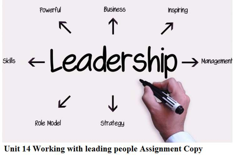 Unit 14 Working with leading people Assignment Copy