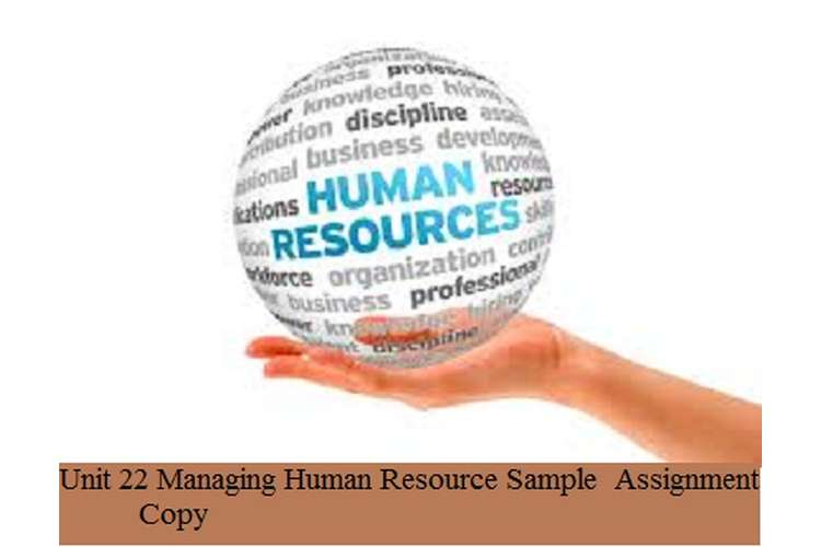 Managing Human Resource Sample Assignment Copy