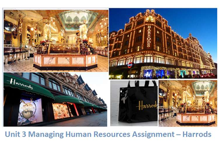 Unit 3 Managing Human Resources Assignment – Harrods