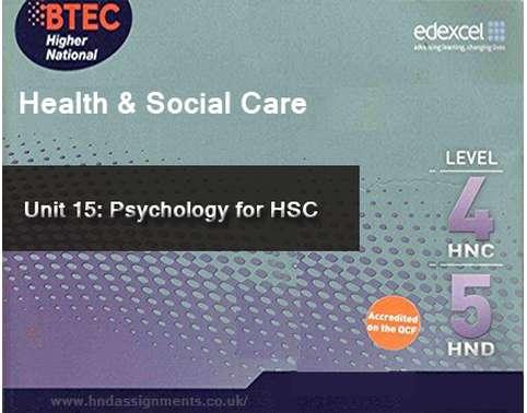 Psychology for HSC