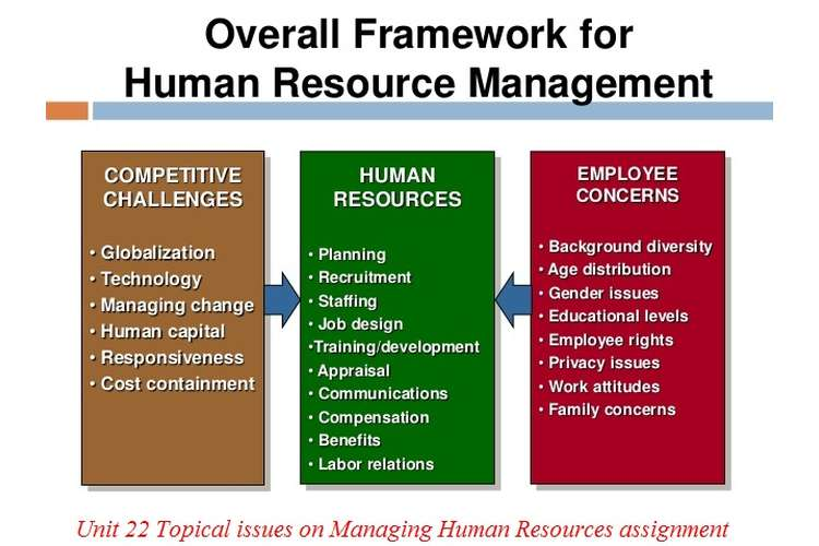 Unit 22 Topical issues on Managing Human Resources assignment